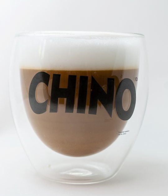 Glass Cappuccino Mug