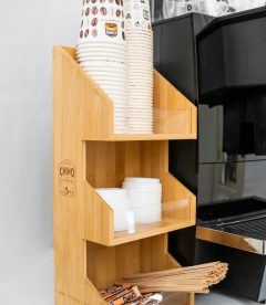 Wooden Counter Stand